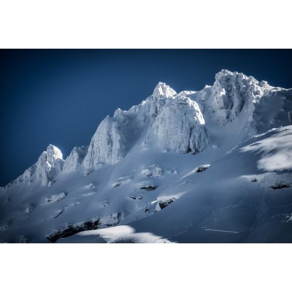 Montagne givrée