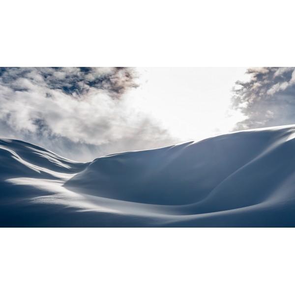 Sensualité de la neige