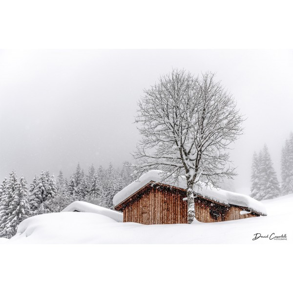 Alpage sous la neige